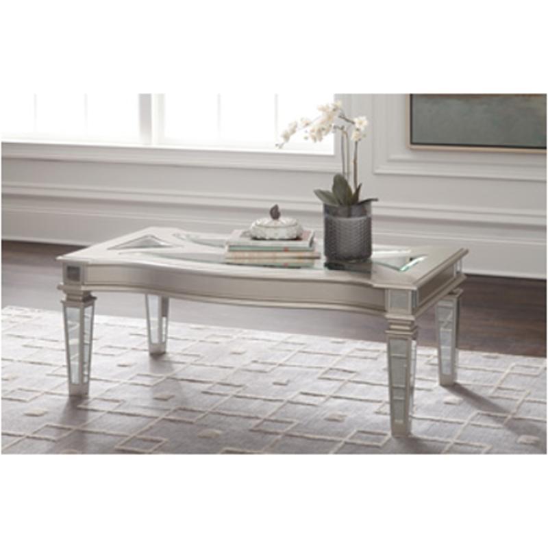 T099-1 Ashley Furniture Tessani Rectangular Cocktail Table