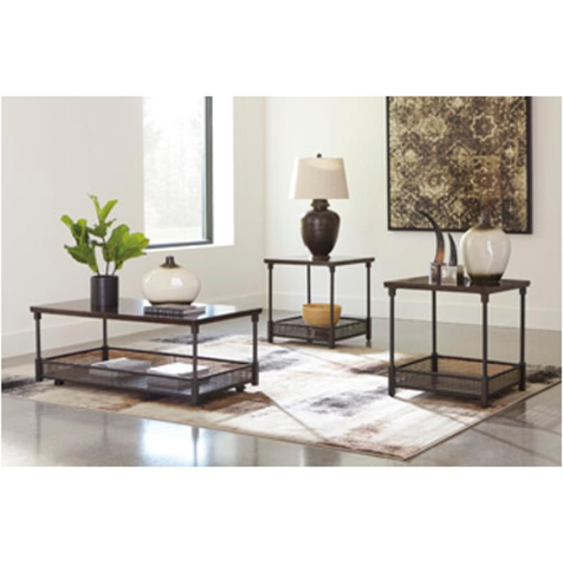 T049 13 Ashley Furniture Banilee Living Room Occasional: T301-13 Ashley Furniture Kalmiski Occasional Table Set