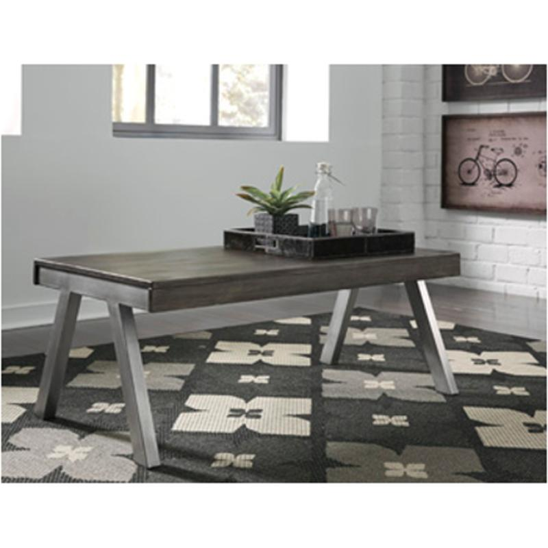 Ashley Furniture Distressed Coffee Table: T467-1 Ashley Furniture Raventown Rectangular Cocktail Table