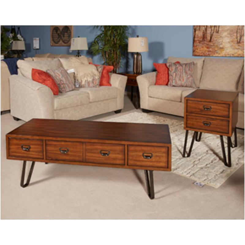 T762 1 Ashley Furniture Centair Living Room Cocktail Table