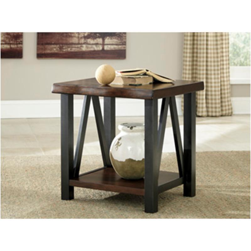 T Ashley Furniture Esmarina Rectangular End Table - Ashley furniture coffee table with stools