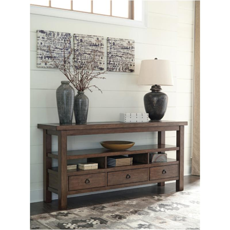 T911-4 Ashley Furniture Campfield Living Room Console Table