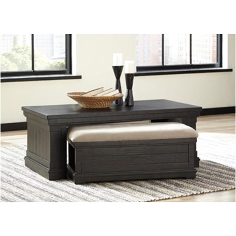 T935 1 Ashley Furniture Rectangular Cocktail Table With