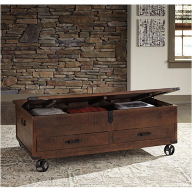 T938 20 Ashley Furniture Norlandon Living Room Cocktail Table