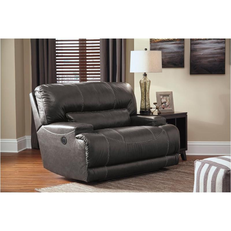 U6090082 Ashley Furniture Mccaskill Wide Seat Power Recliner