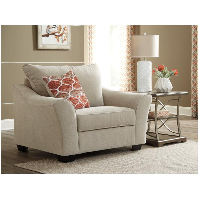 Ashley Furniture Bloomington Illinois Photos Reviews: 1120123 Ashley Furniture Lisle Nuvella Chair And A Half