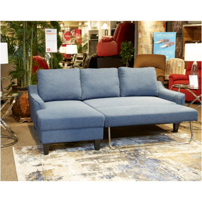 1150371 Ashley Furniture Jarreau - Blue Queen Sofa Sleeper