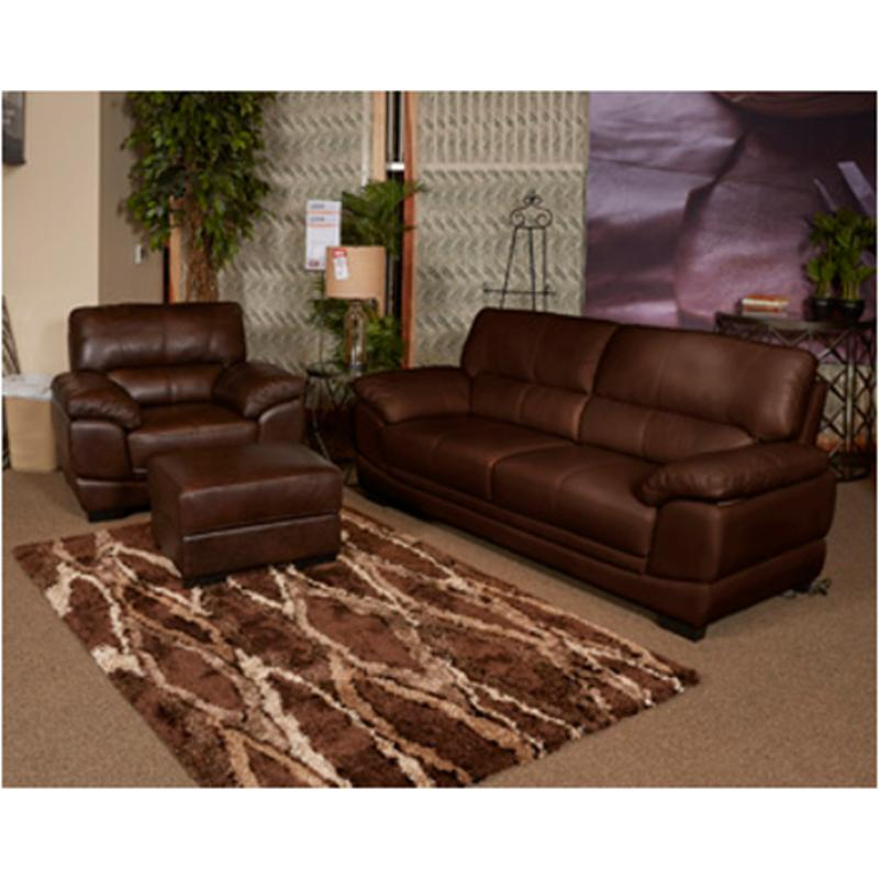 1220438 Ashley Furniture Fontenot - Chocolate Sofa