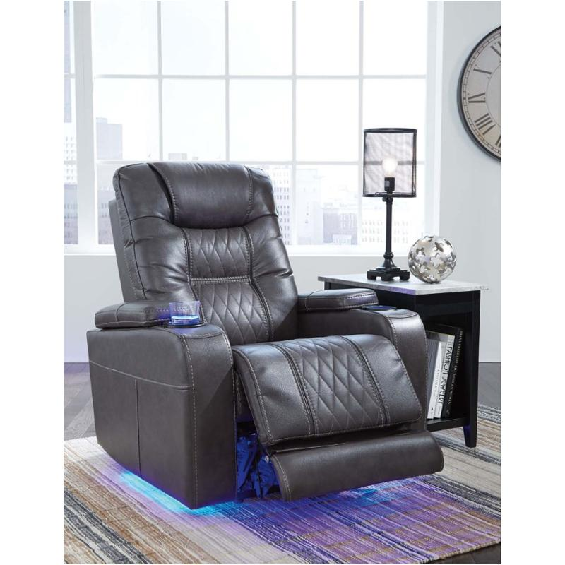 2150613 Ashley Furniture Power Recliner Adjusted Headrest
