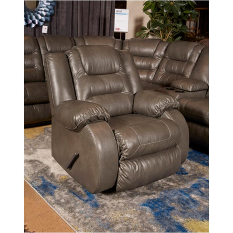 3810225 Ashley Furniture Walgast   Gray Living Room Recliner