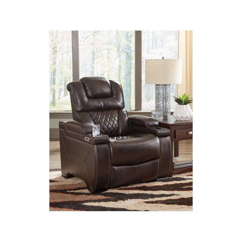 7540713 Ashley Furniture Power Recliner Adjusted Headrest