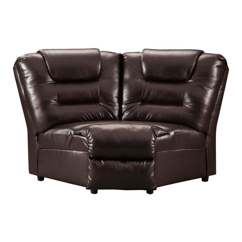 7930777 Ashley Furniture Vacherie - Chocolate Living Room Wedge