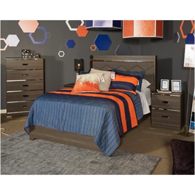 Ashley Furniture Financing Specials: B132-87 Ashley Furniture Annikus Full Upholstered Panel Bed