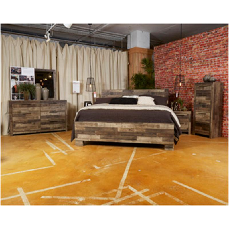 B200 58 Ashley Furniture Derekson Bedroom King Panel Bed