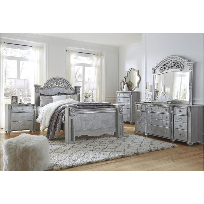 B357-68 Ashley Furniture Zolena King Poster Bed