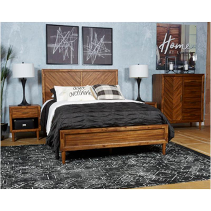 B518-57 Ashley Furniture Broshtan Bedroom Queen Panel Bed