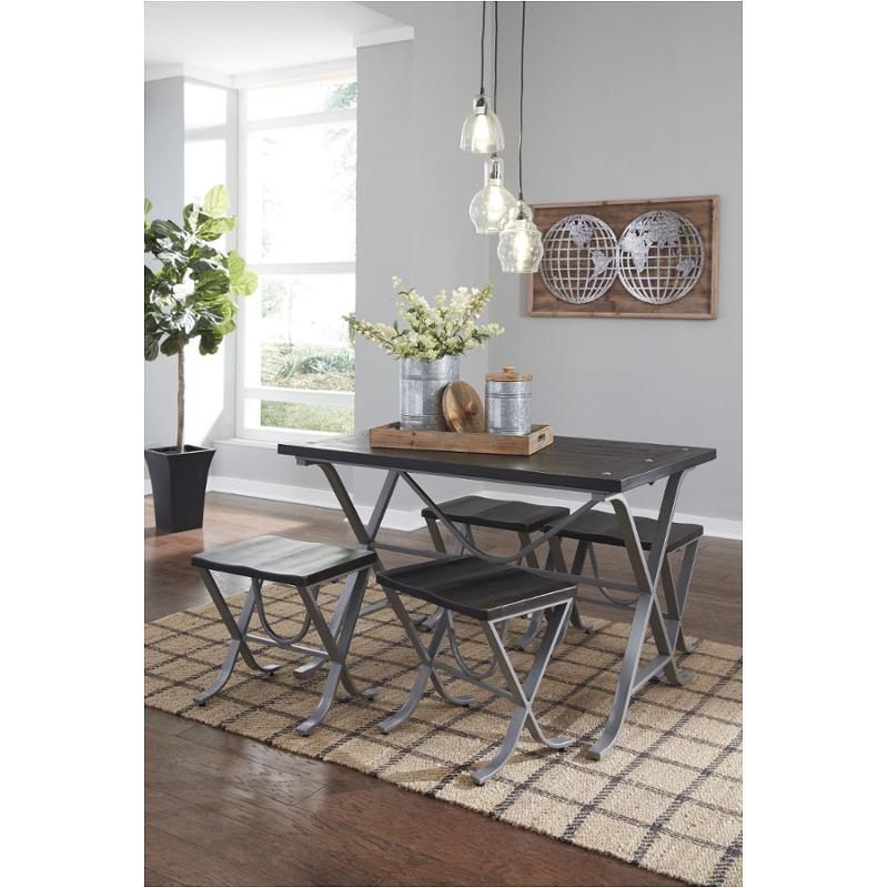 D321-225 Ashley Furniture Elistree Bedroom Dining Table  sc 1 st  Home Living Furniture & D321-225 Ashley Furniture Rectangular Dining Room Table Set