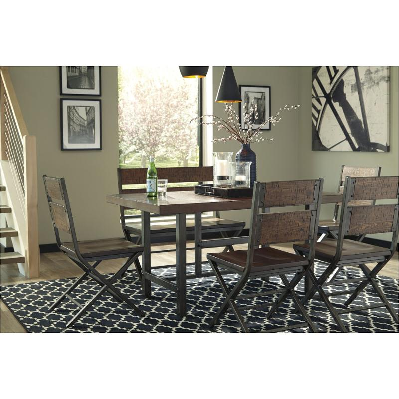 D469-25 Ashley Furniture Kavara - Medium Brown Rectangular Dining Room Table