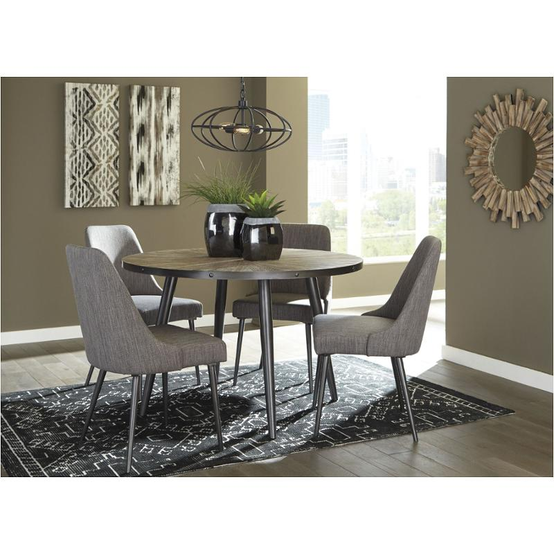 D605 15 Ashley Furniture Coverty Round Dining Table