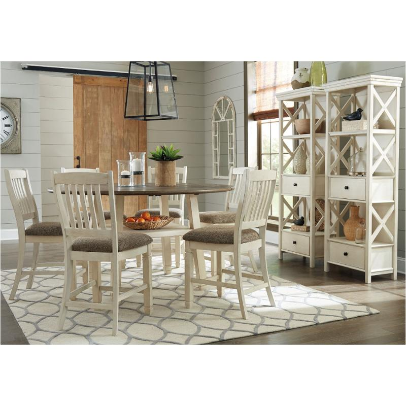 D647 13 Ashley Furniture Bolanburg Dining Room Counter Height Table