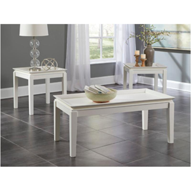 T262-13 Ashley Furniture Living Room Occasional Table Set