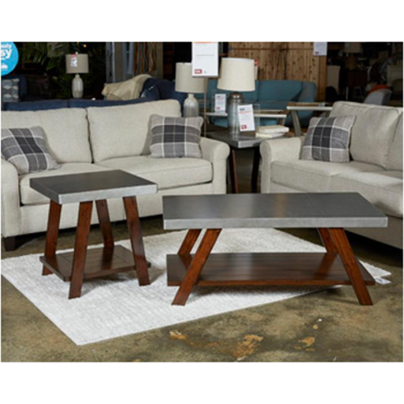 T295 13 Ashley Furniture Bellenteen Living Room Occasional Table Set