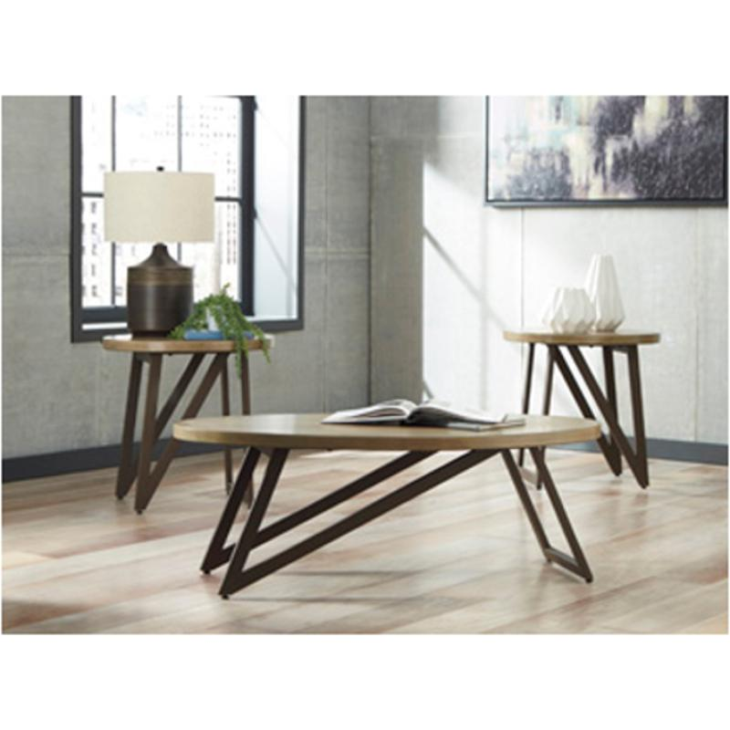T049 13 Ashley Furniture Banilee Living Room Occasional: T298-13 Ashley Furniture Dougetti Occasional Table Set