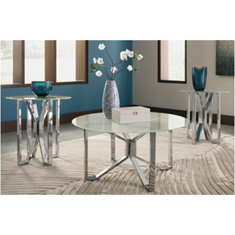 T320-13 Ashley Furniture Tangeline Occasional Table Set