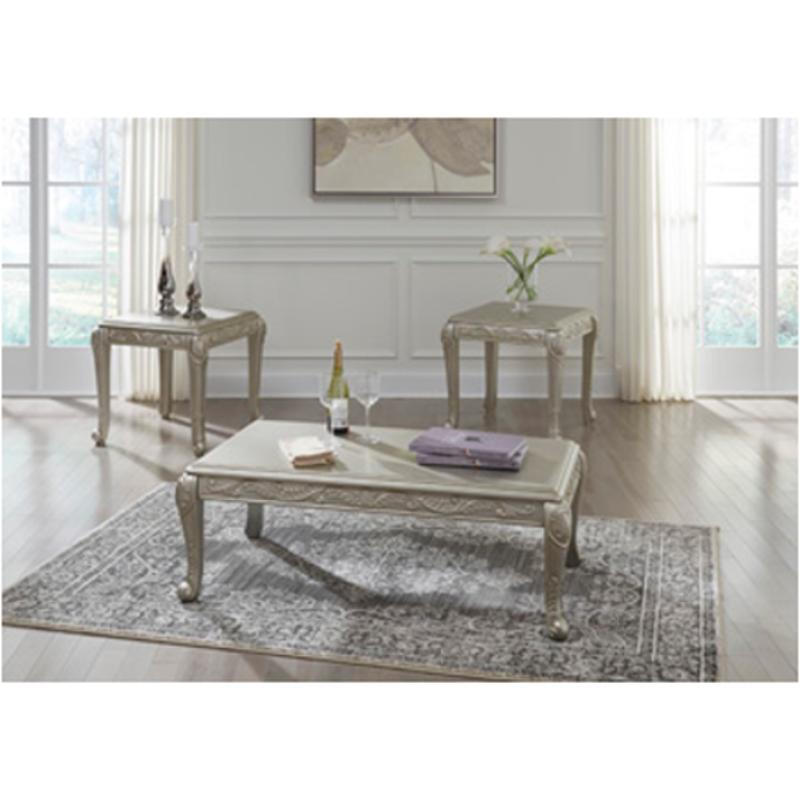 T049 13 Ashley Furniture Banilee Living Room Occasional: T340-13 Ashley Furniture Verickam Occasional Table Set