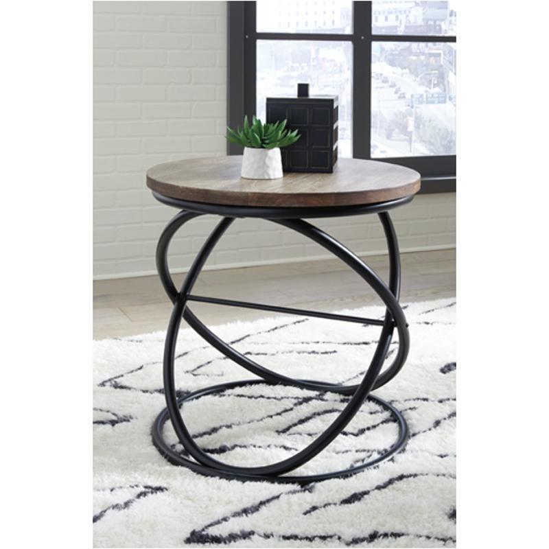T644 6 Ashley Furniture Charliburi Living Room End Table