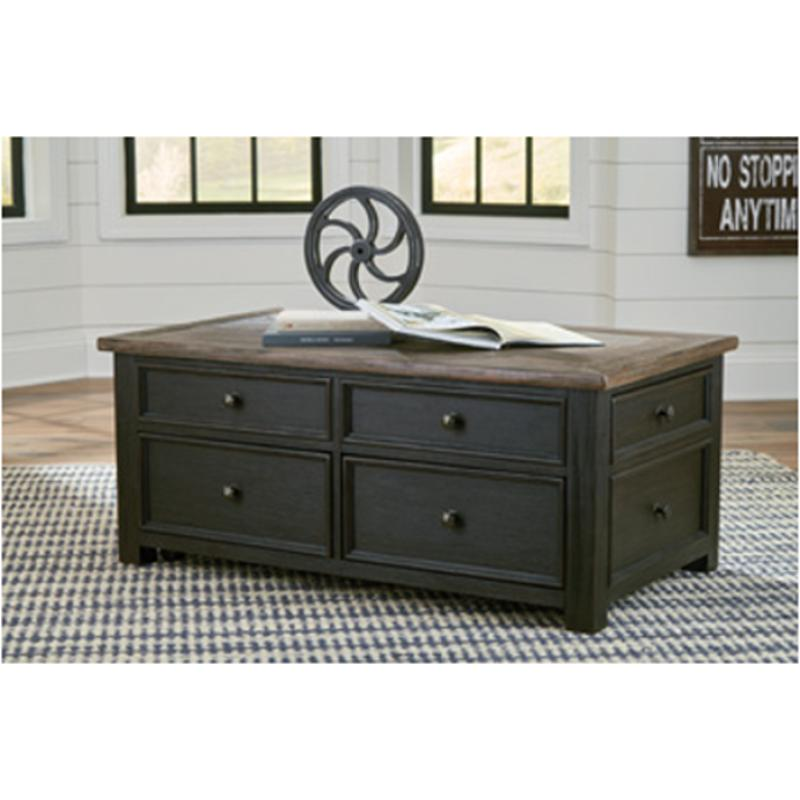 T736 20 Ashley Furniture Tyler Creek Living Room Tail Table