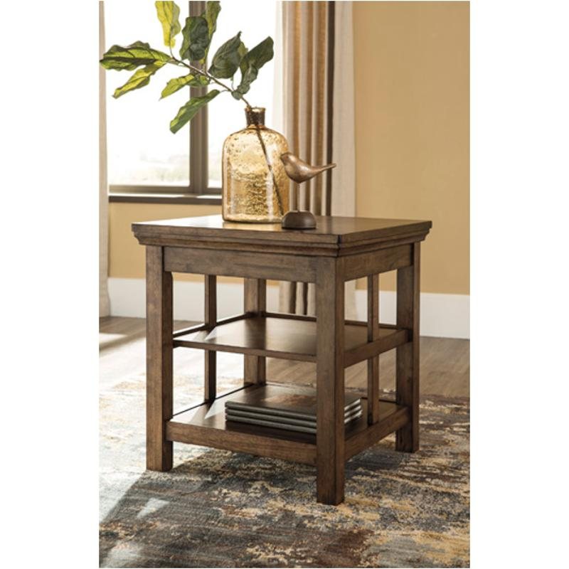 T919 2 Ashley Furniture Flynnter Living Room Square End Table