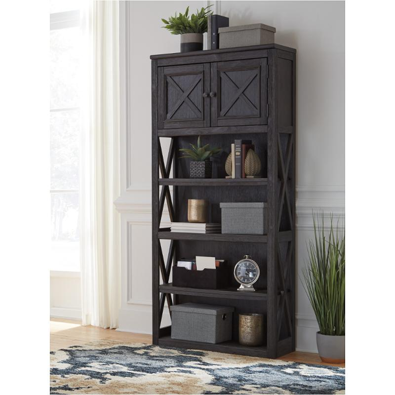 H736 17 Ashley Furniture Tyler Creek Home Office Large Bookcase