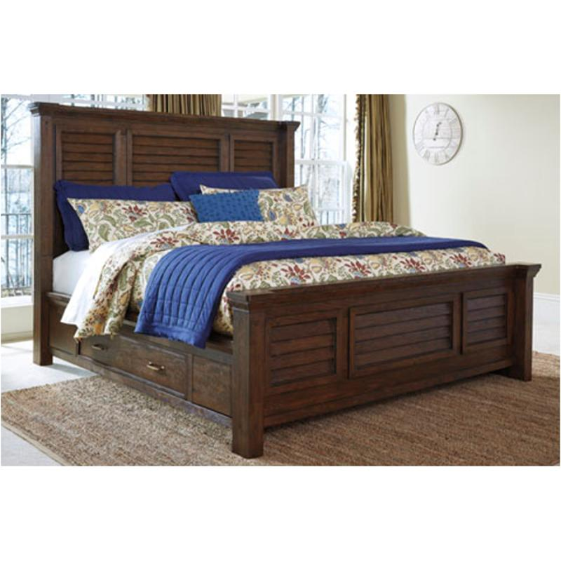 Ashley Furniture Manufacturing: B662-94s Ashley Furniture Windville Bed