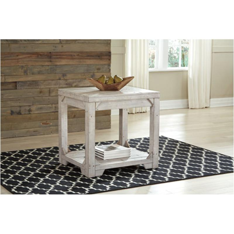 T755-3 Ashley Furniture Fregine Rectangular End Table