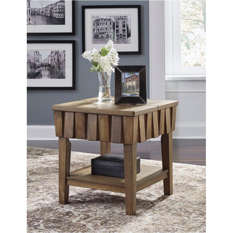 T783-3 Ashley Furniture Rowenbeck Rectangular End Table