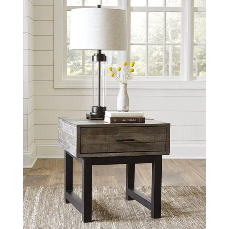 T891-2 Ashley Furniture Mondoro Living Room Square End Table