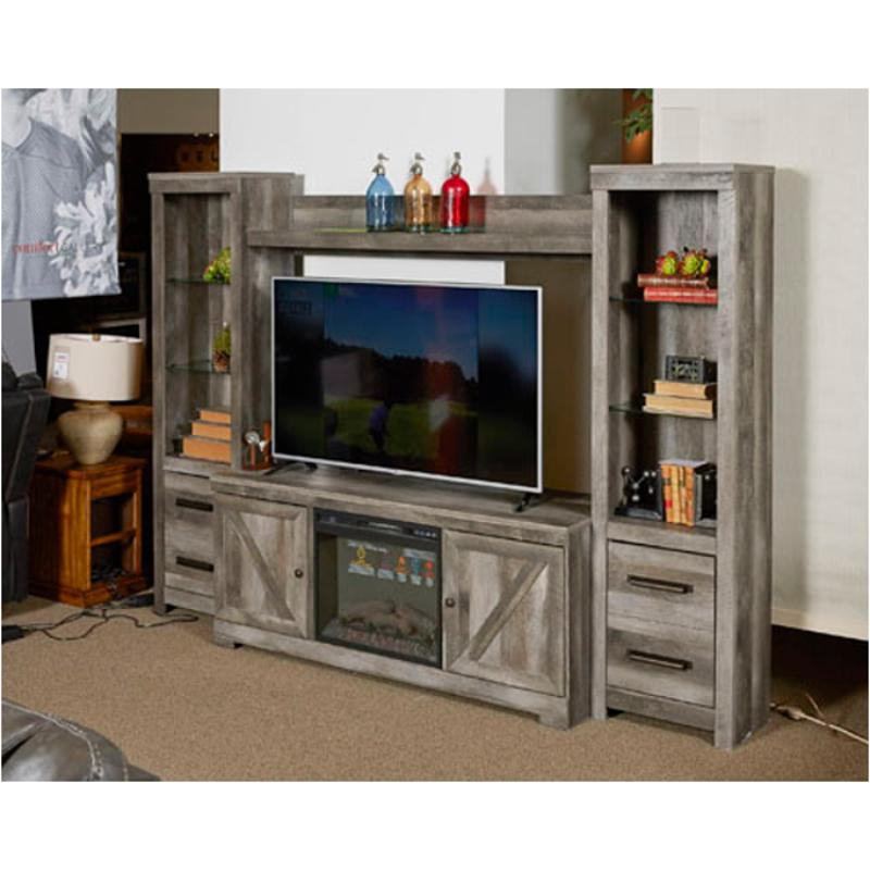 W440 68 Ashley Furniture Wynnlow Home Entertainment Center