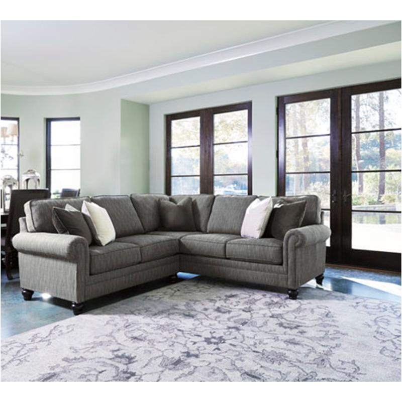 2970167 Ashley Furniture Kittredge Graphite Living Room Sofa