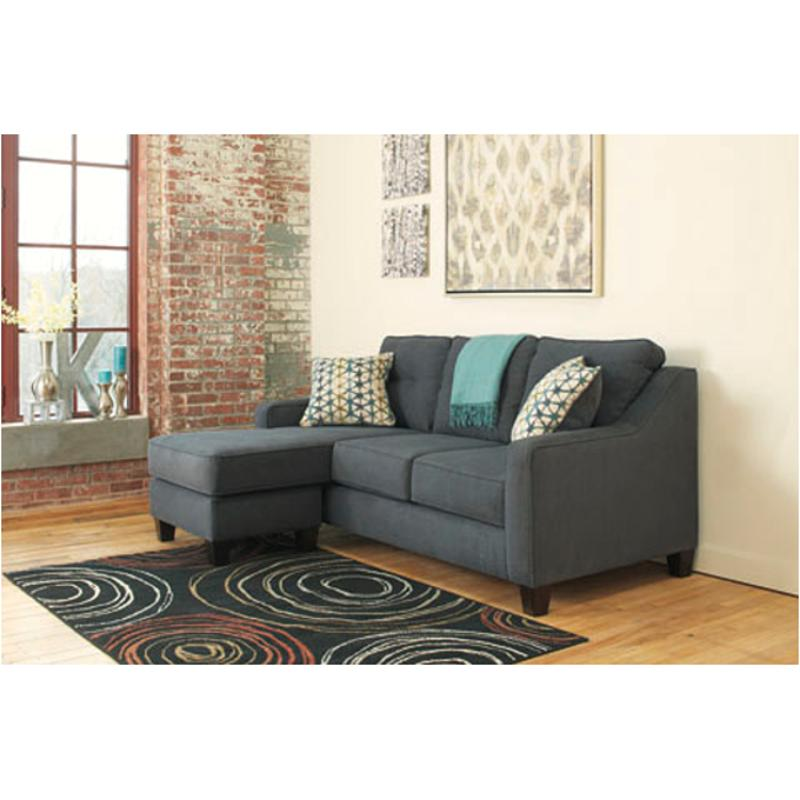 6080418 Ashley Furniture Shayla - Dark Gray Sofa Chaise