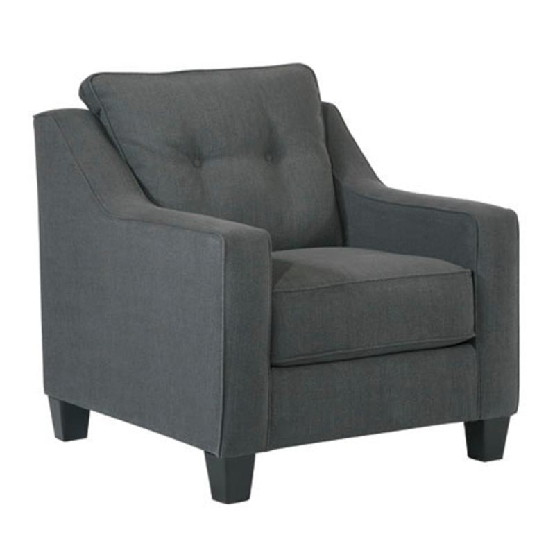 6080420 Ashley Furniture Shayla - Dark Gray Chair
