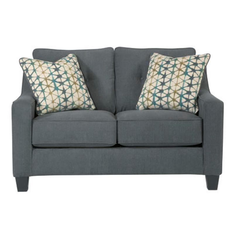Pleasing 6080435 Ashley Furniture Shayla Dark Gray Loveseat Gamerscity Chair Design For Home Gamerscityorg