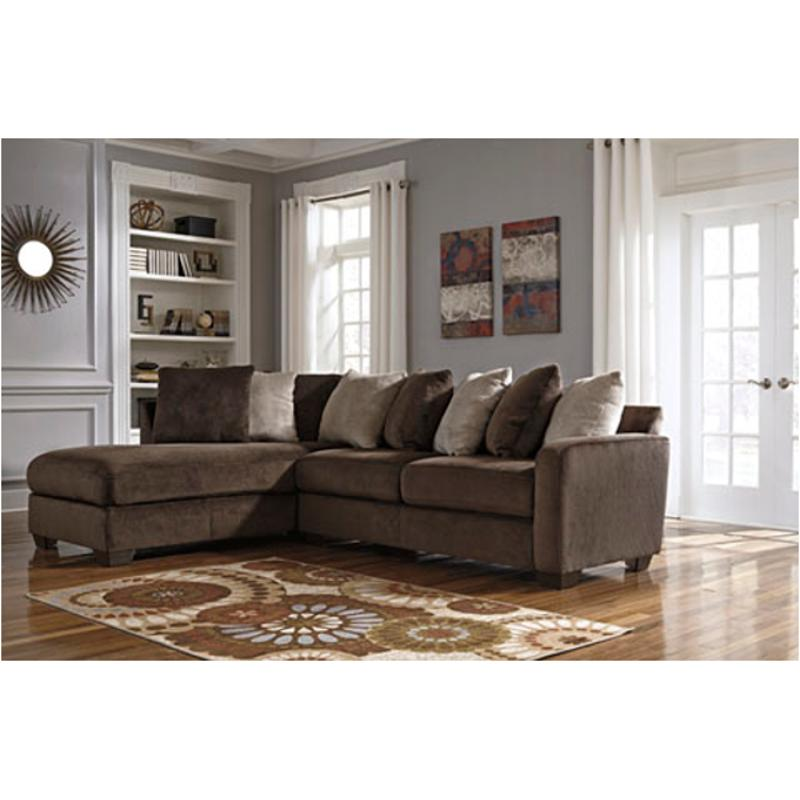 8830267 Ashley Furniture Dahlen - Chocolate Raf Sofa