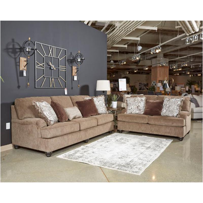 4090139 Ashley Furniture Braemar Living Room Queen Sofa Sleeper