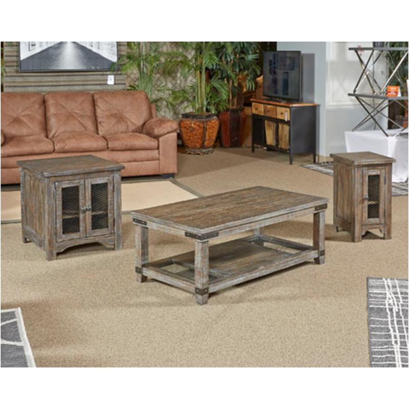 T446 7 Ashley Furniture Danell Ridge Chairside End Table