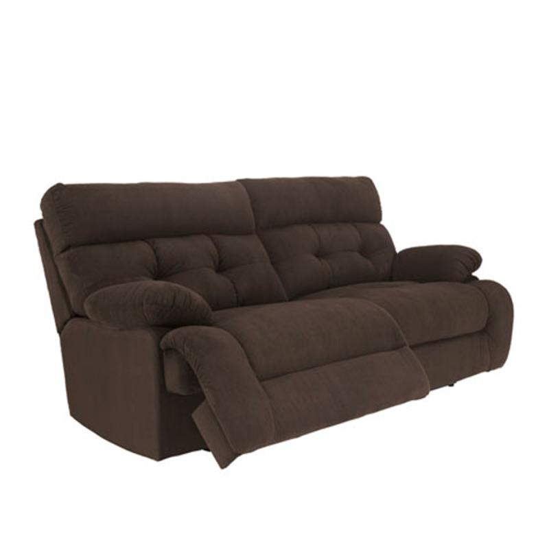 8330481 Ashley Furniture Overly Chocolate 2 Seat Reclining Sofa