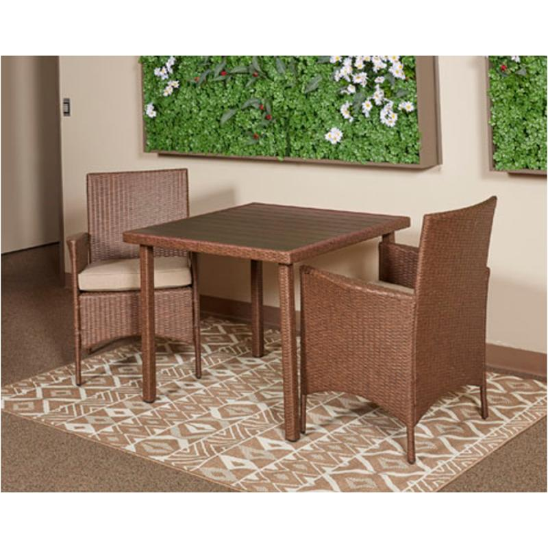 P307 115 Ashley Furniture Reedenhurst Patio And Garden Dining Table