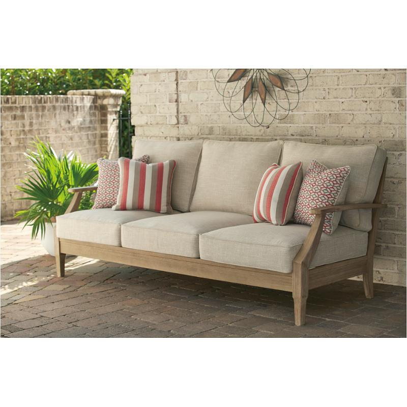 Excellent P801 838 Ashley Furniture Clare View Sofa With Cushion Home Interior And Landscaping Staixmapetitesourisinfo
