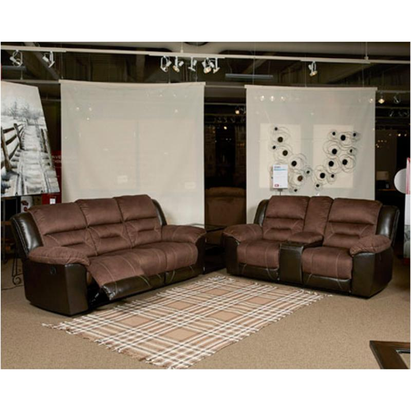 2910188 Ashley Furniture Earhart Chestnut Reclining Sofa