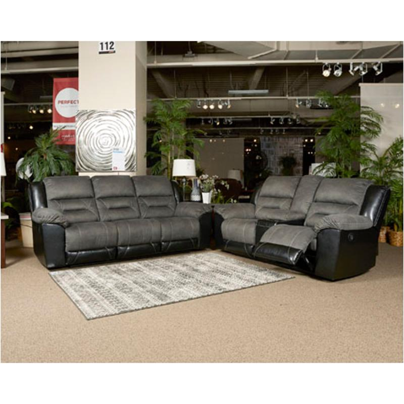 2910288 Ashley Furniture Earhart Slate Reclining Sofa
